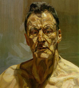 lucian freud - 'reflection'